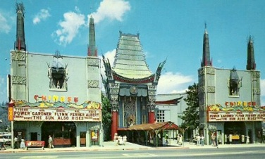 Grauman's Chinese Theater, Hollywood Blvd (1957)