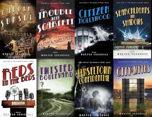 Hollywood's Garden of Allah novels by Martin Turnbull